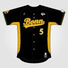 Bonn Jersey Pro Black (+Tackle Twill)
