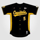 Capitals Jersey Pro Black (+Tackle Twill)